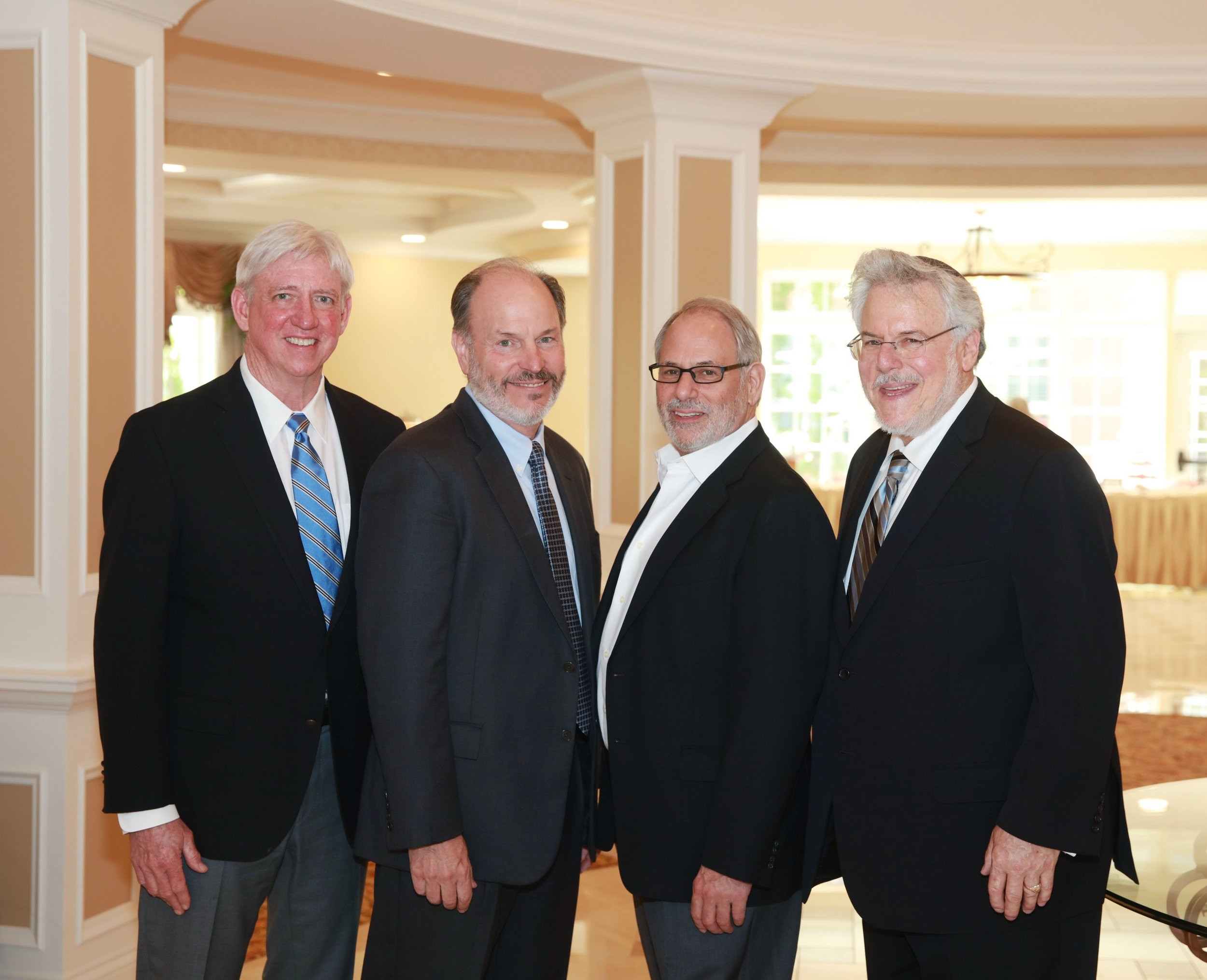 Bob Leonard, Director of Operations for The Gatesworth Communities; Mike Doyle, Chief Financial Officer; David Smith, Co-owner of The Gatesworth and Charles Deutsch, Co-owner of The Gatesworth.