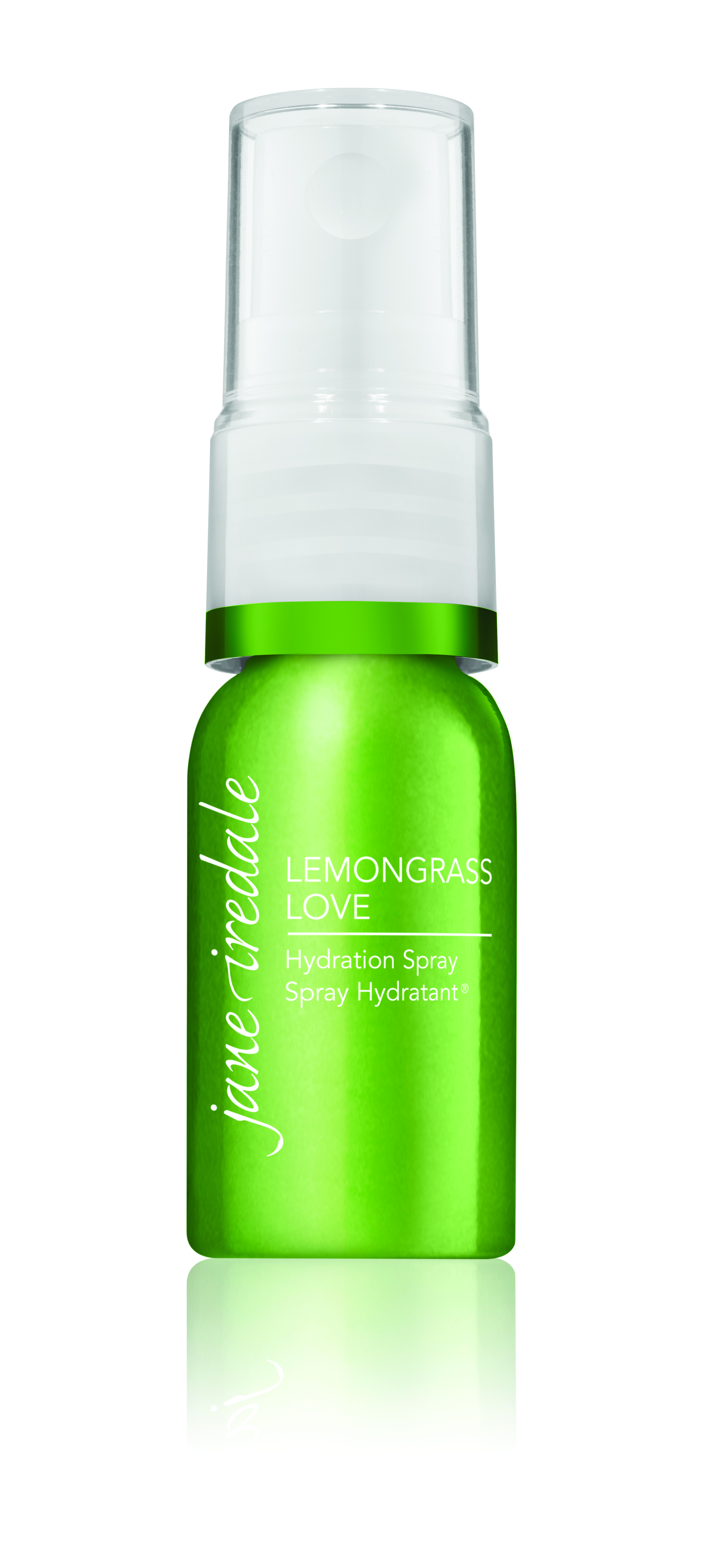 Don't let a long flight dry out your skin before arrival! Jane Iredale: Lemongrass Mini Hydration Spray $11