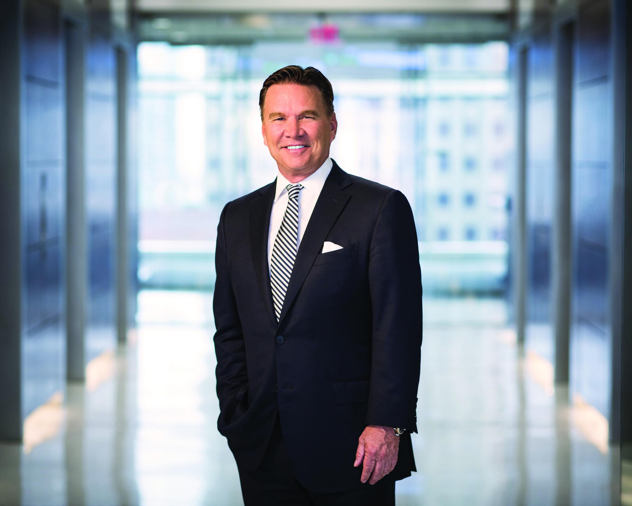 Ron Kruszewski is the Chairman and CEO of Stifel Financial Corp.  Photo by Bill Sawalich