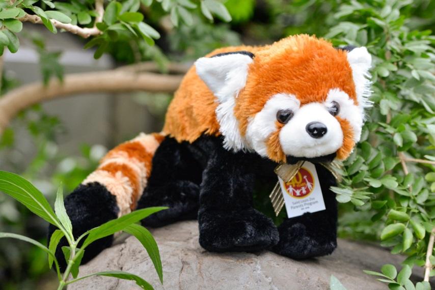 2018 Holiday Adoption red panda plush_Saint Louis Zoo.jpg