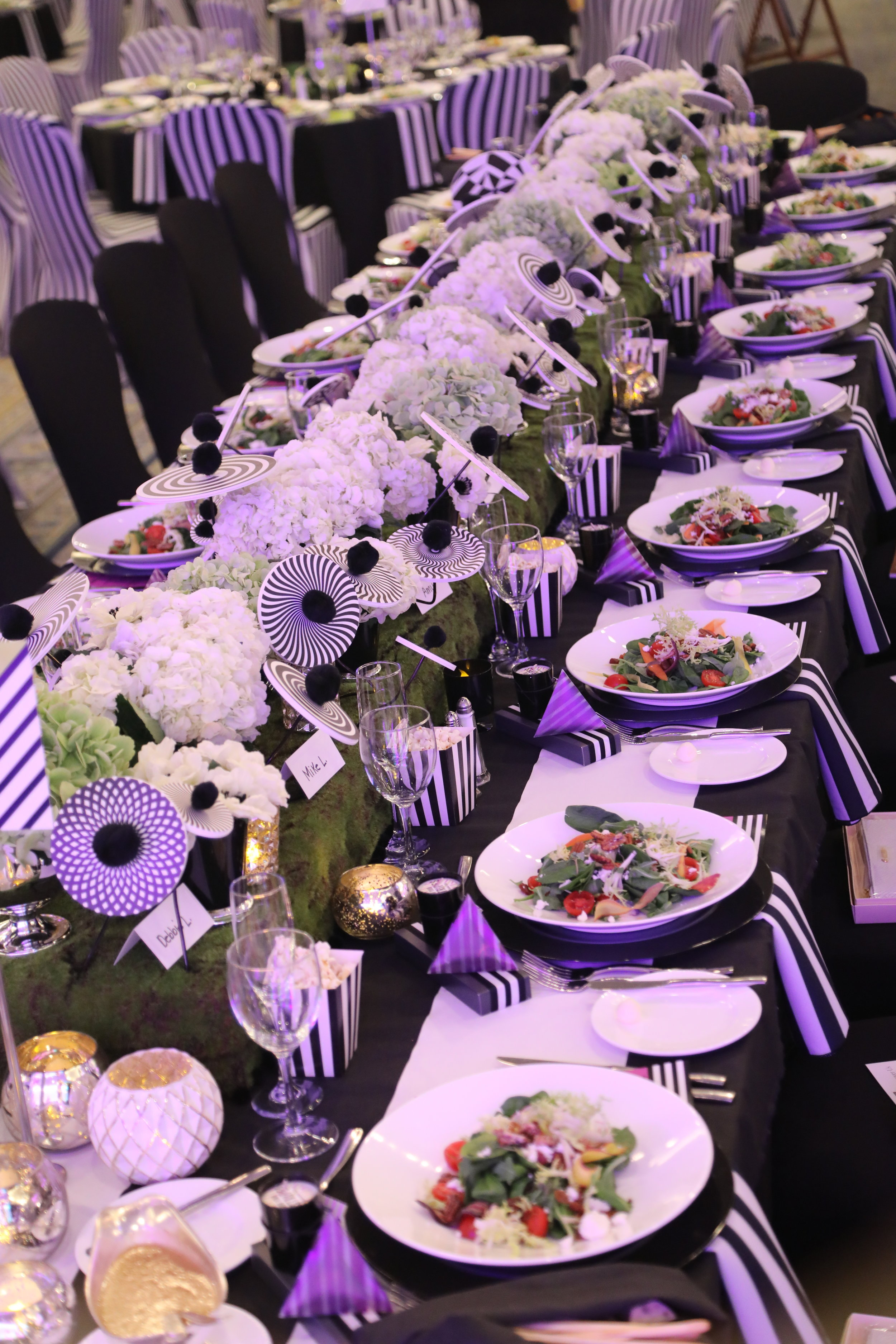 """""""Table One"""" at last year's COCAcabana celebration. Photo by Diane Anderson."""