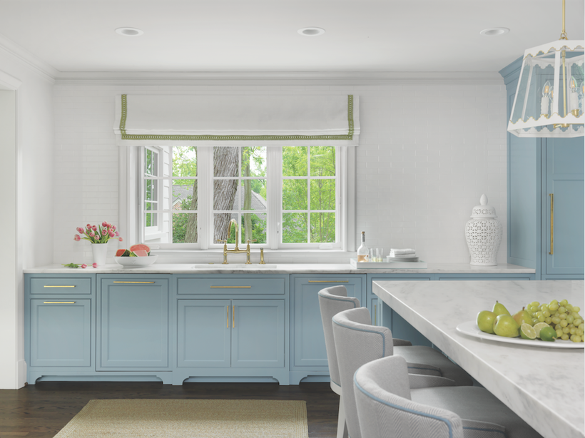 Ready for a crowd or a small family gathering, the new kitchen is the most dramatic change to the 84-year-old home.