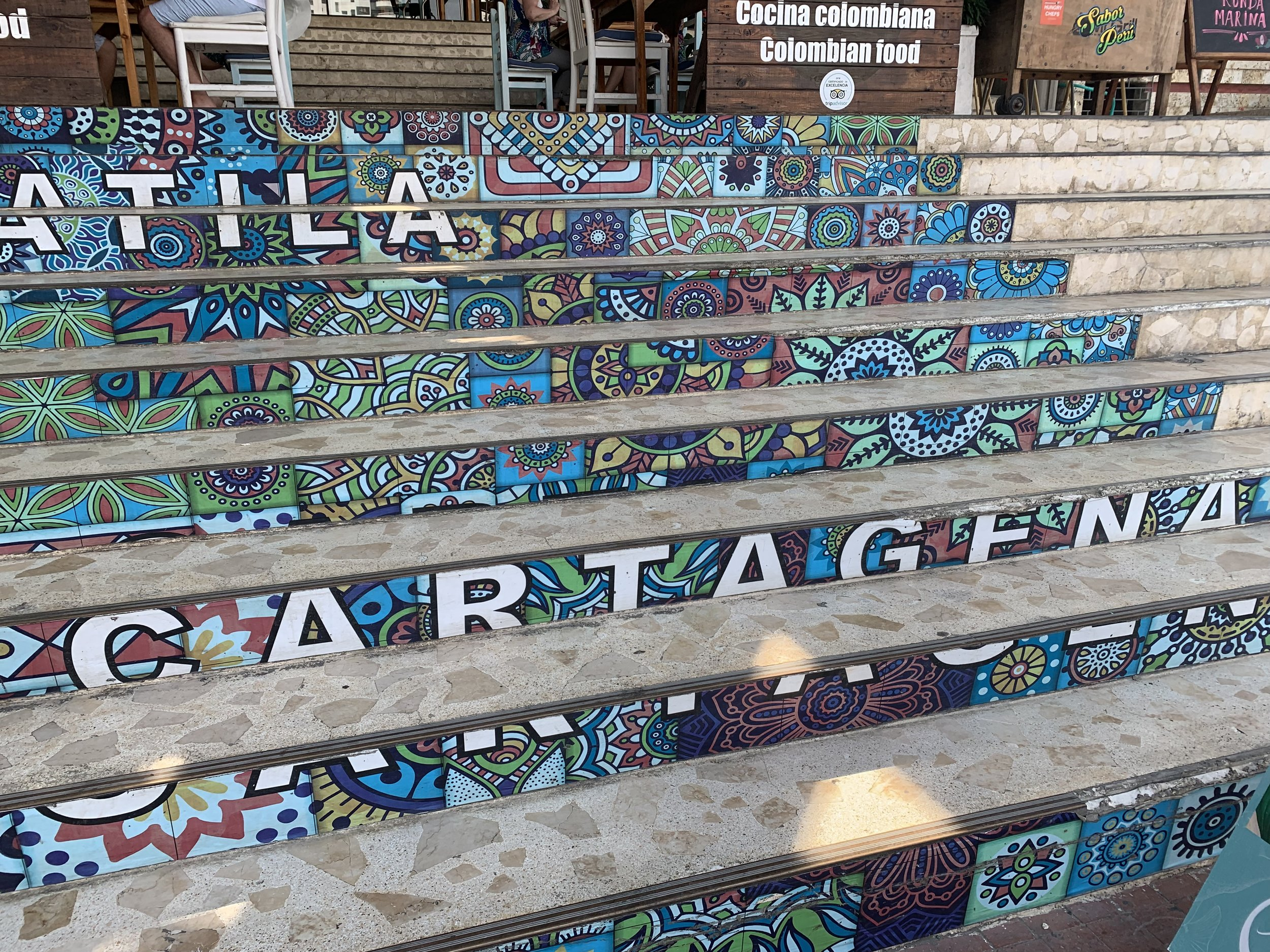 """This Instagram-worthy sign of Cartagena is located next to the Río Casino near the main shopping mall close to the marina. A more prominent """"Welcome to Cartagena"""" can be seen on the way into town from the airport."""