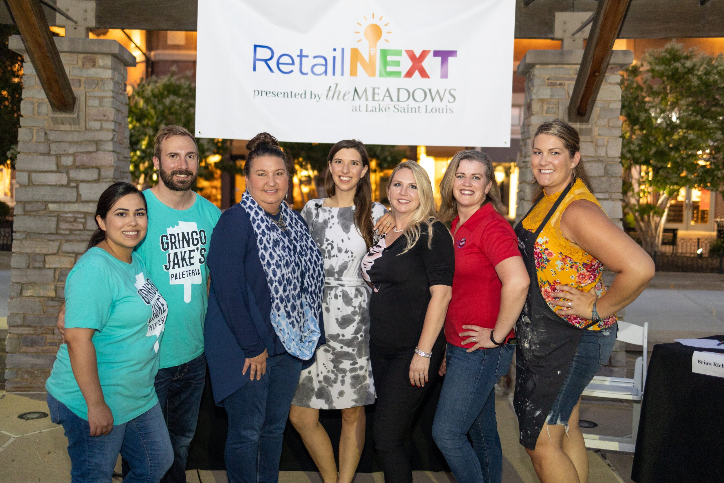 The finalists of the RetailNEXT Competition.