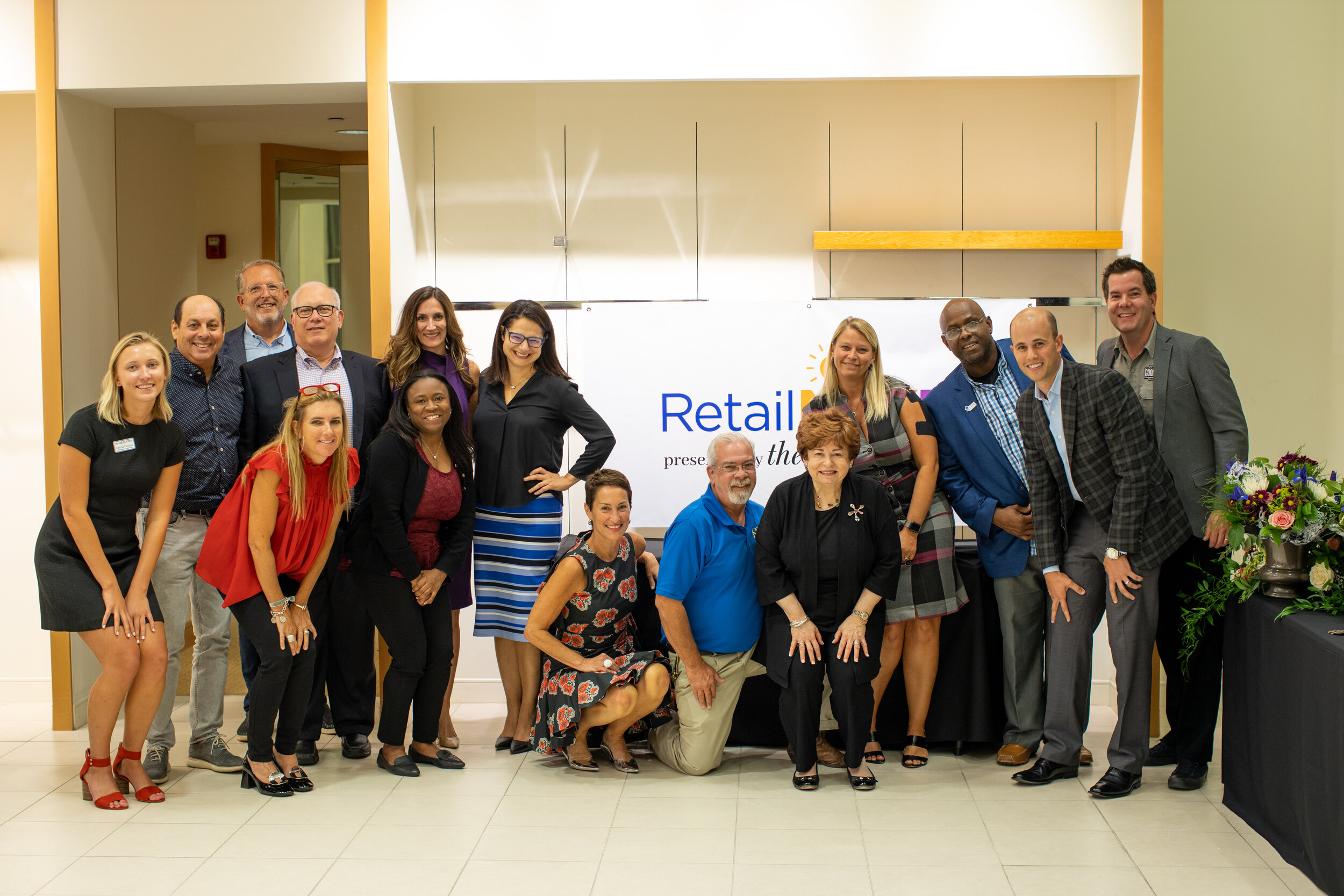 The team behind the RetailNEXT Competition.