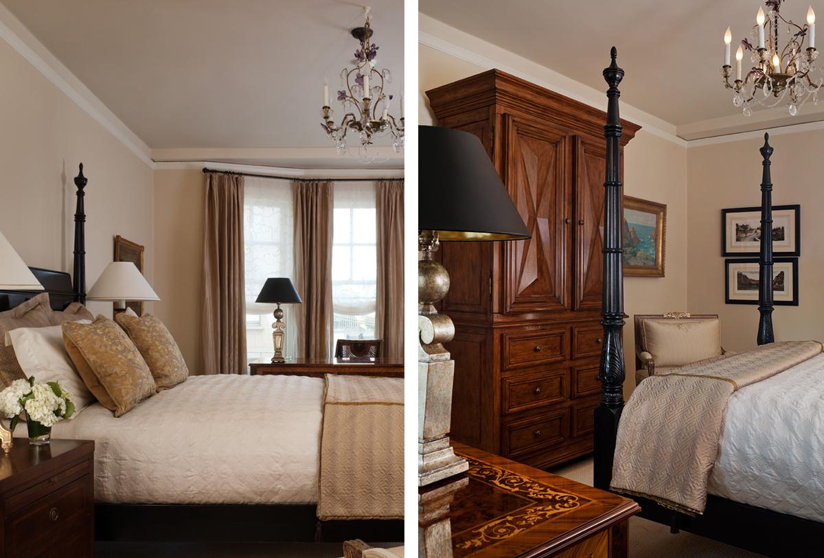 colonial revival bedroom