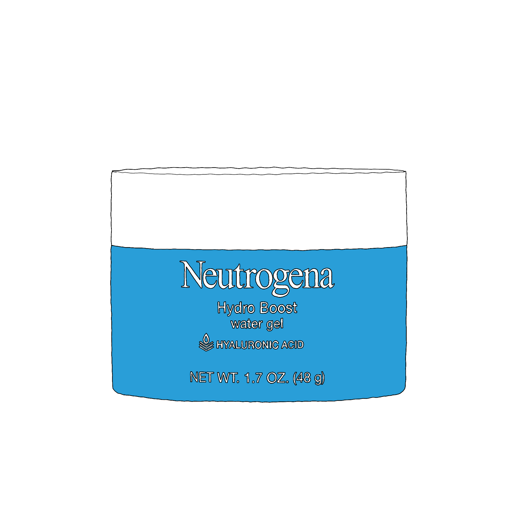 Neutrogena Hydro Boost Water Gel   After working in makeup/skincare since an accidental job in college. And as someone prone to breakouts and deep loyalty to her favorite products, Alex-Anna exclusively uses  Amy Head Cosmetics  for makeup and  Kiehl's  skincare. That was, until she found  this moisturizer . It cleared her breakouts, and made her skin softer than EVER! (It also comes with  sunscreen !)