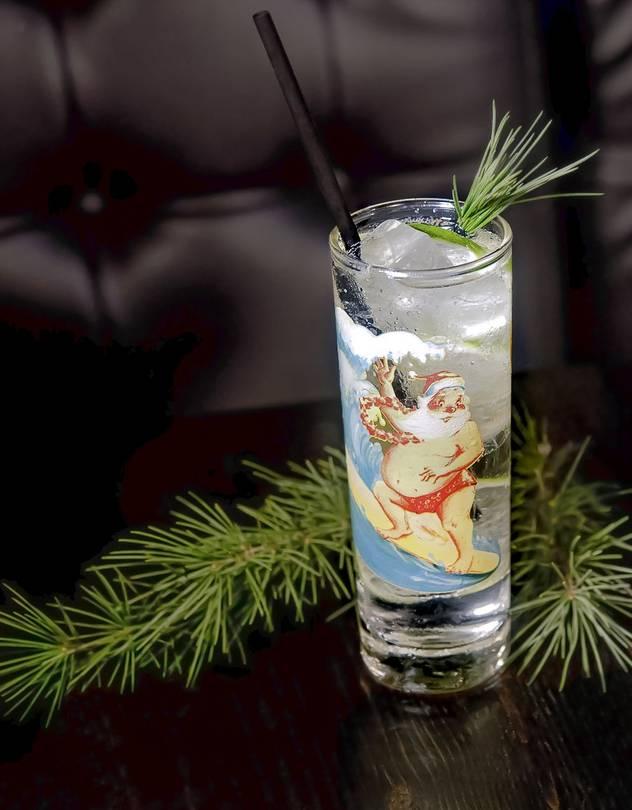 Sippin' Santa's Surf Shack's Royal Tannenbaum.PHOTO:GABI PORTER