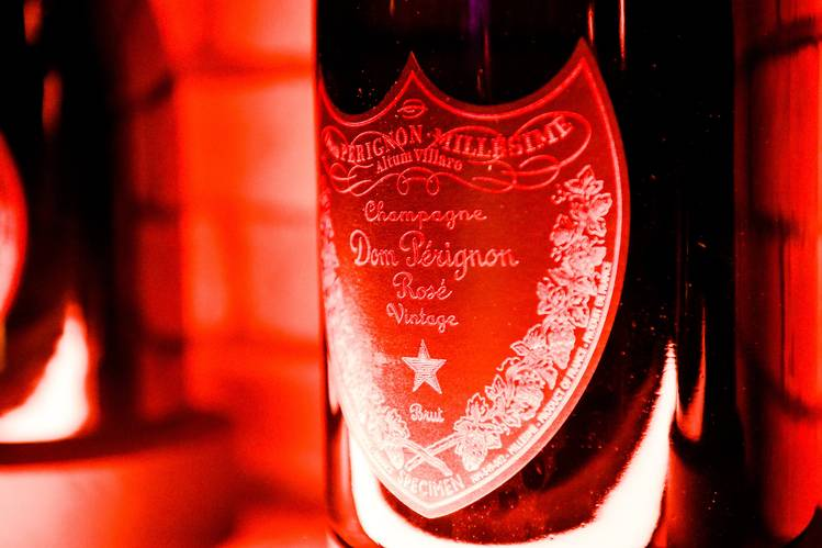 Dom Pérignon Tasting Event Features Rare Pinks