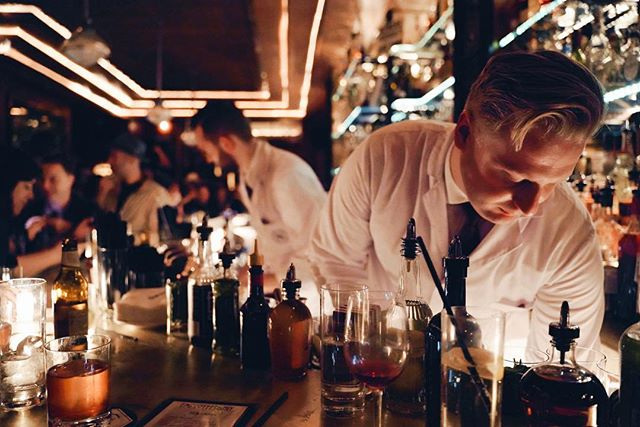 04.09.19 12:42 a.m. Norway's Himkok bar takes over EO with decadent Negronis and a whole lot of aquavit.