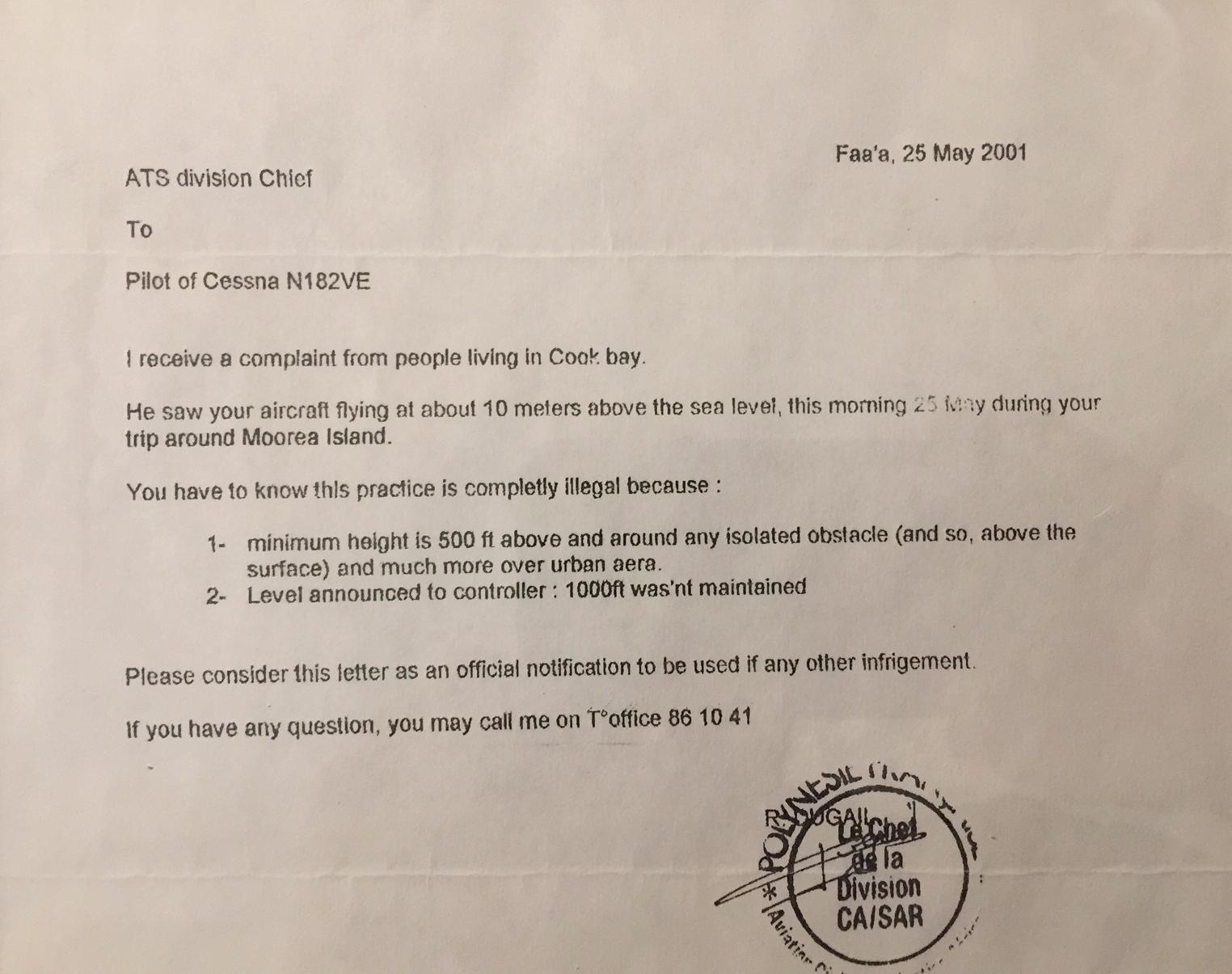 Reprimand Document