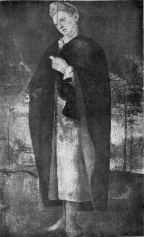 Allegorical Male Figure   (ex-Spinelli Collection, 1934 photograph)