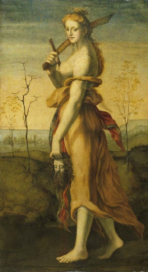 Beccafumi :  Judith with the Head of Holofernes  (London, Wallace Collection)