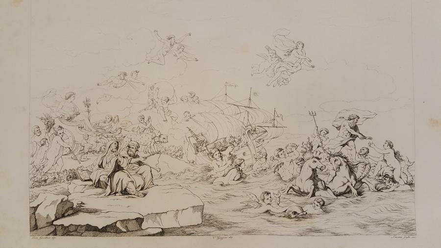 Carlo Lasinio after Luca Giordano (from  Galleria Riccardiana , 1823)