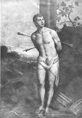5) Workshop of Titian (reversed), oil on canvas, 193 x 135.5 cm, Florence, Galleria Palatina and Appartmenti Reali, (inv Poggio Imperiale 1860/1861, no. 1213)