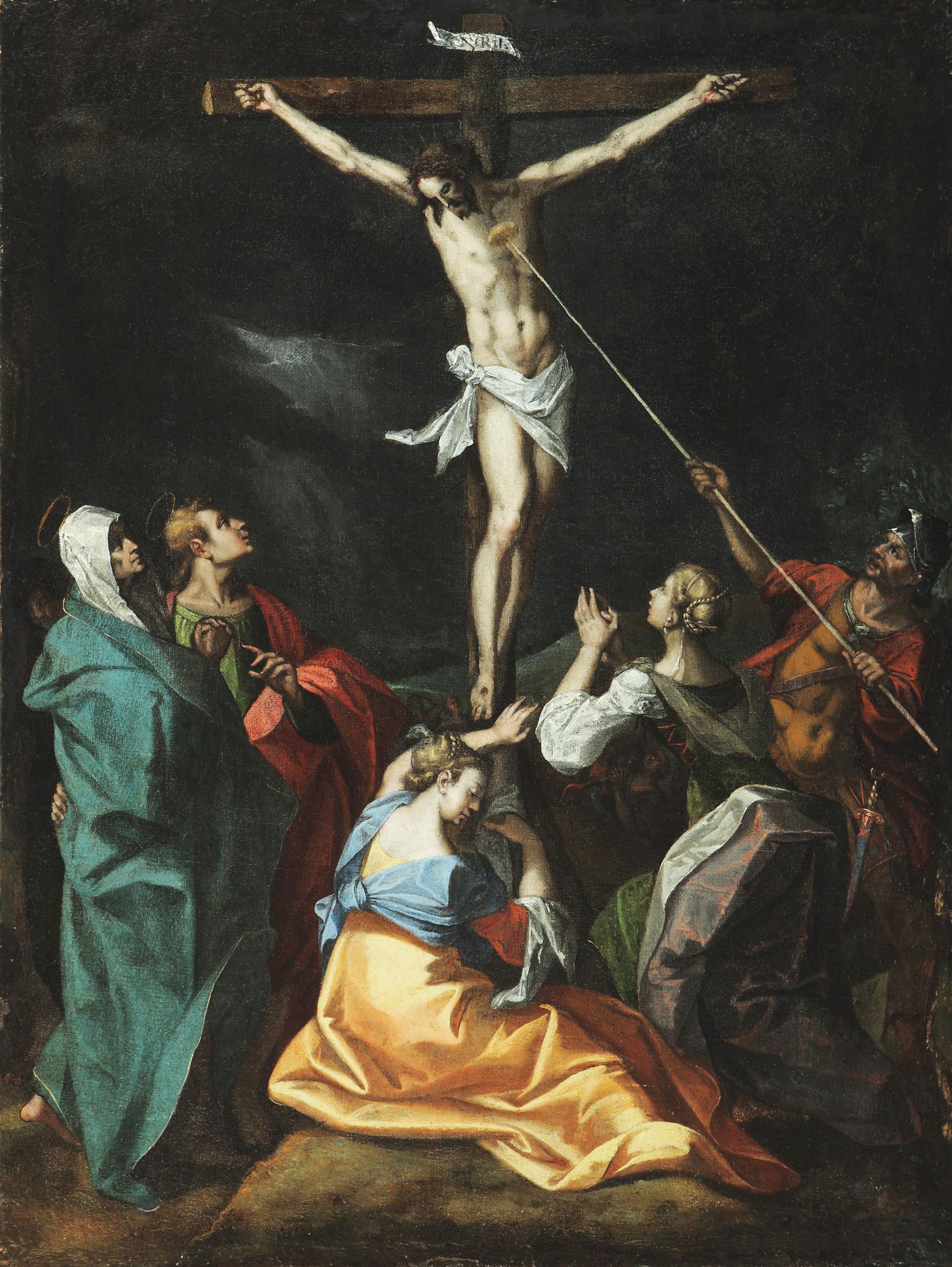 Jeremias van Winghe, Crucifixion