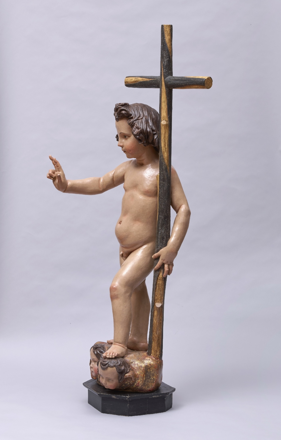 Francisco Dionisio de Ribas, Infant Jesus in triumph - View from the Right