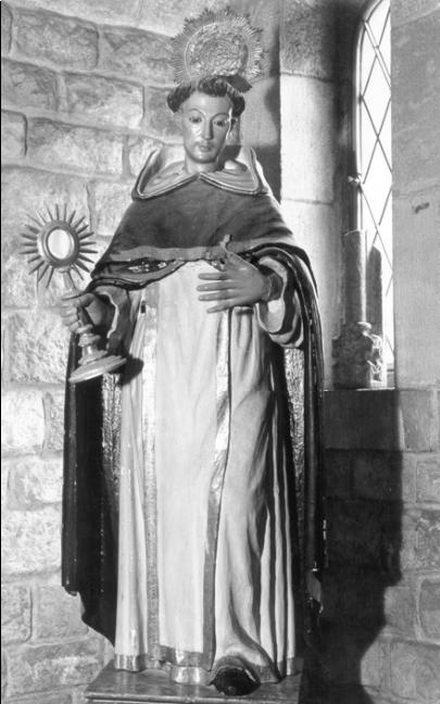 Fig. 6.  Diego de Mora, San Jacinto, iglesia de Santo Domingo, Antequera