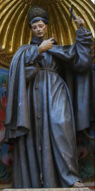 Fig. 7.  Diego de Mora, San Francisco Solano, iglesia de San Francisco, Priego de Córdoba