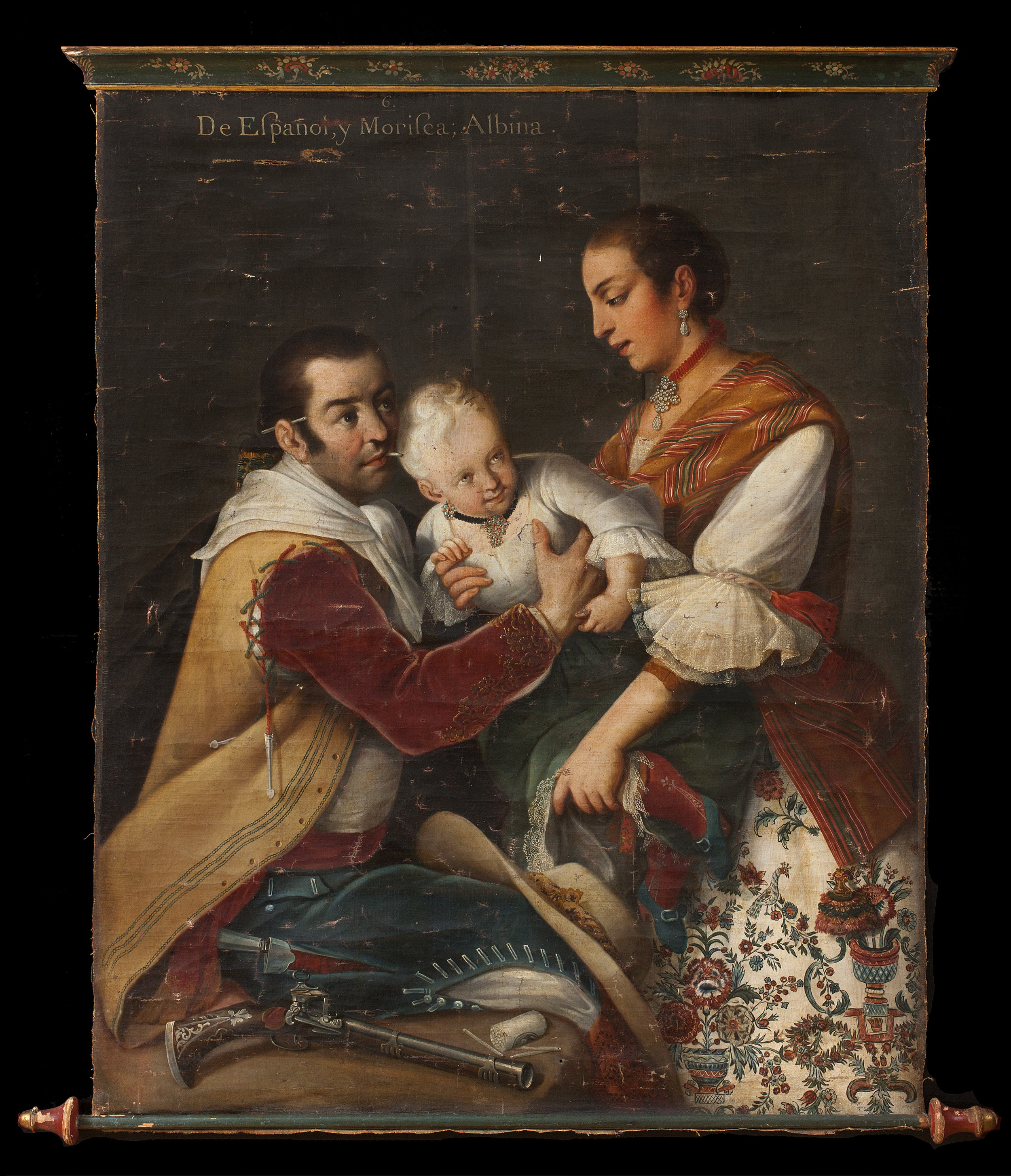 We are pleased to announce the sale of a highly important painting by the Mexican master Miguel Cabrera to the Los Angeles County Museum of Art. -