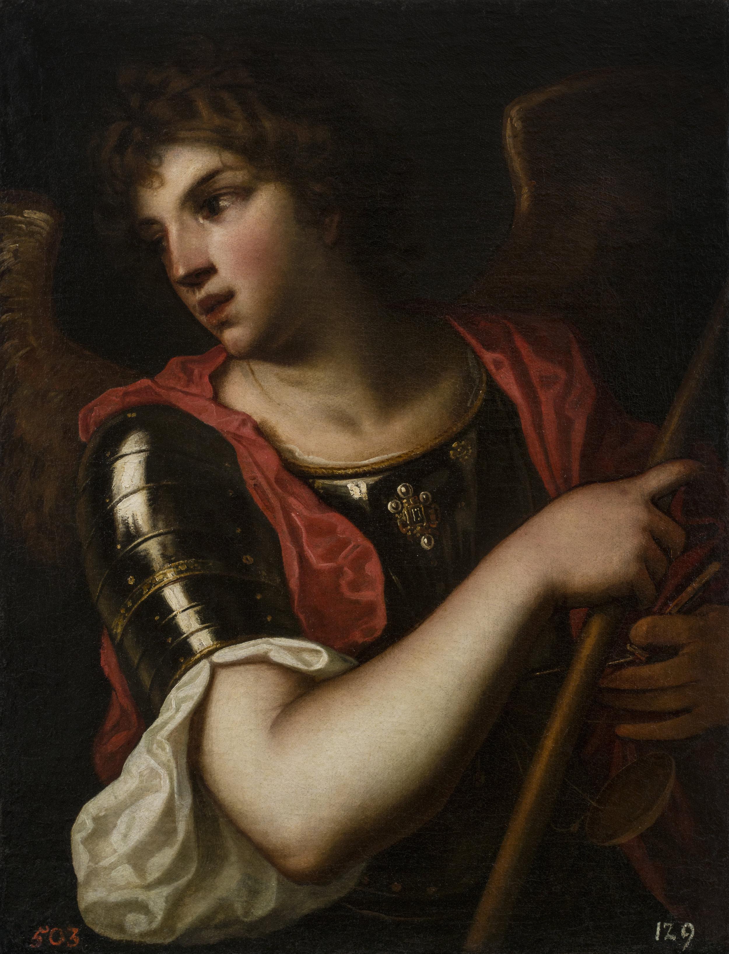 Alessandro Varotari, called Il Padovanino,  The Archangel Michael