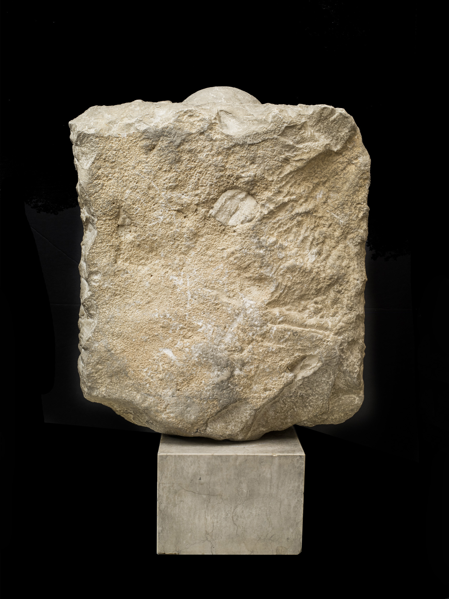 A Palmyrene Stele of a Woman - View of Reverse