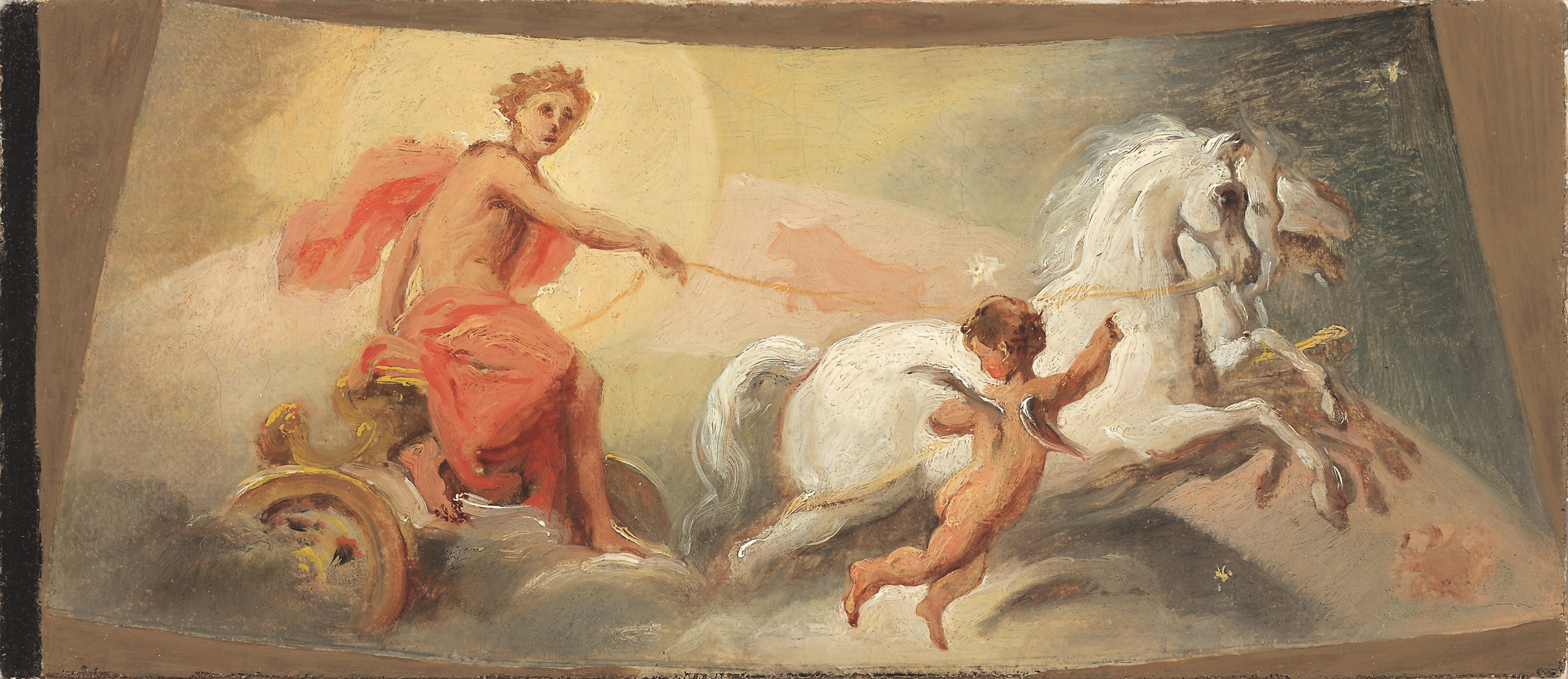 Circle of Jacopo Guarana, Apollo as God of the Sun
