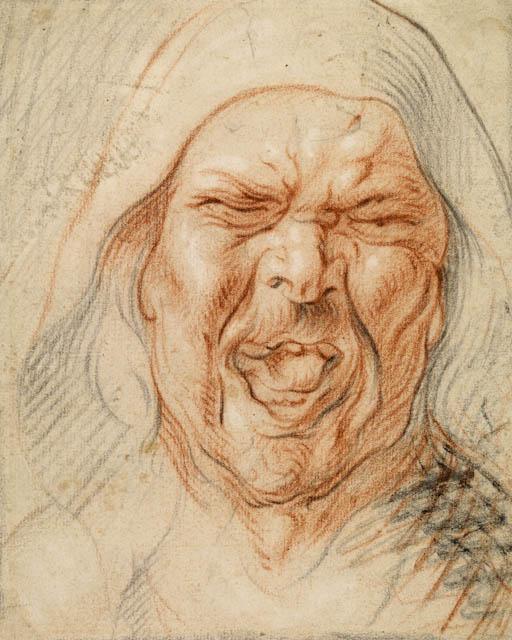 Jacob Jordaens,  Study for the Head of a Jester
