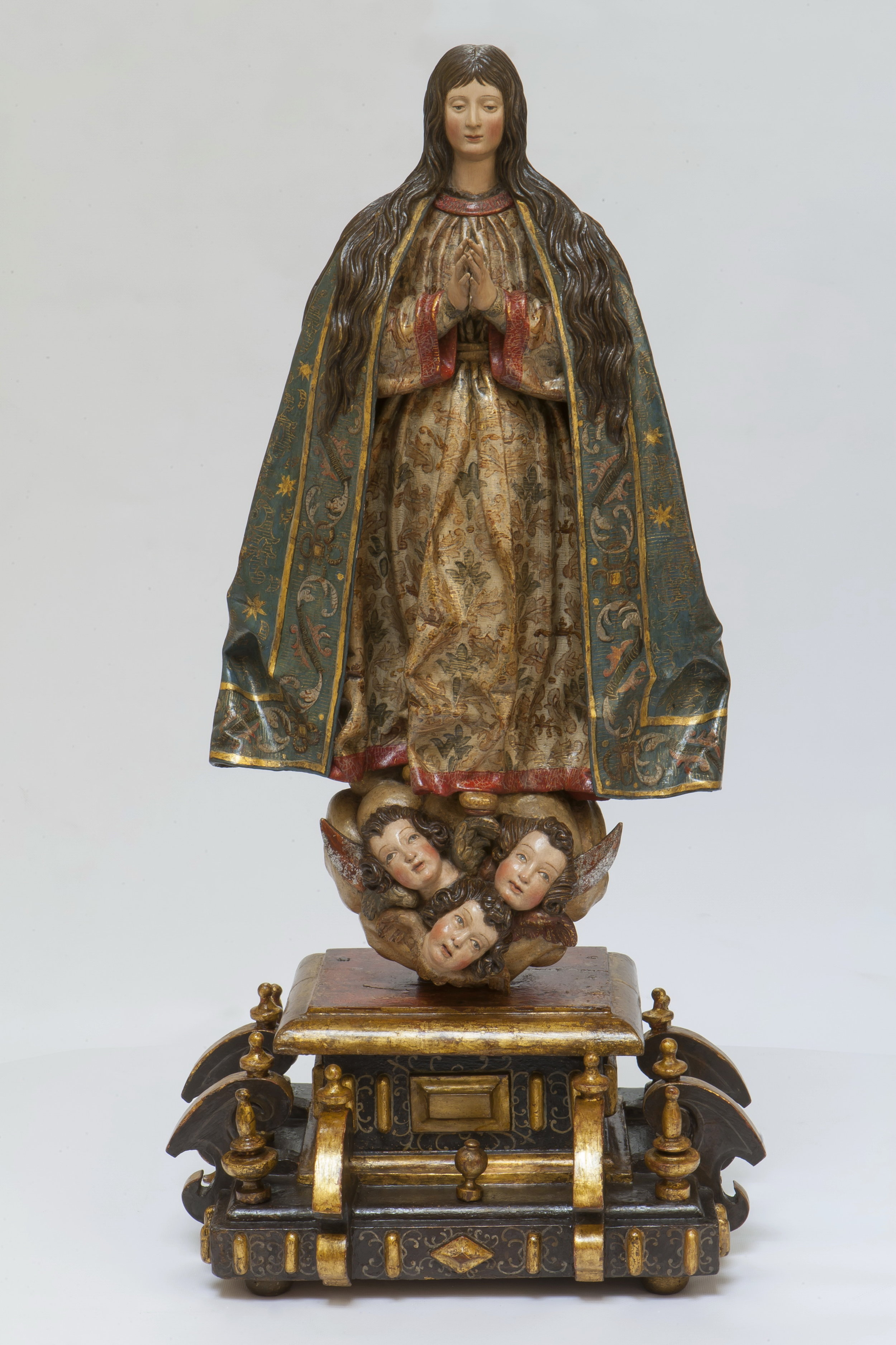 Gregorio Fernández, Virgin of the Immaculate Conception - View from the Front