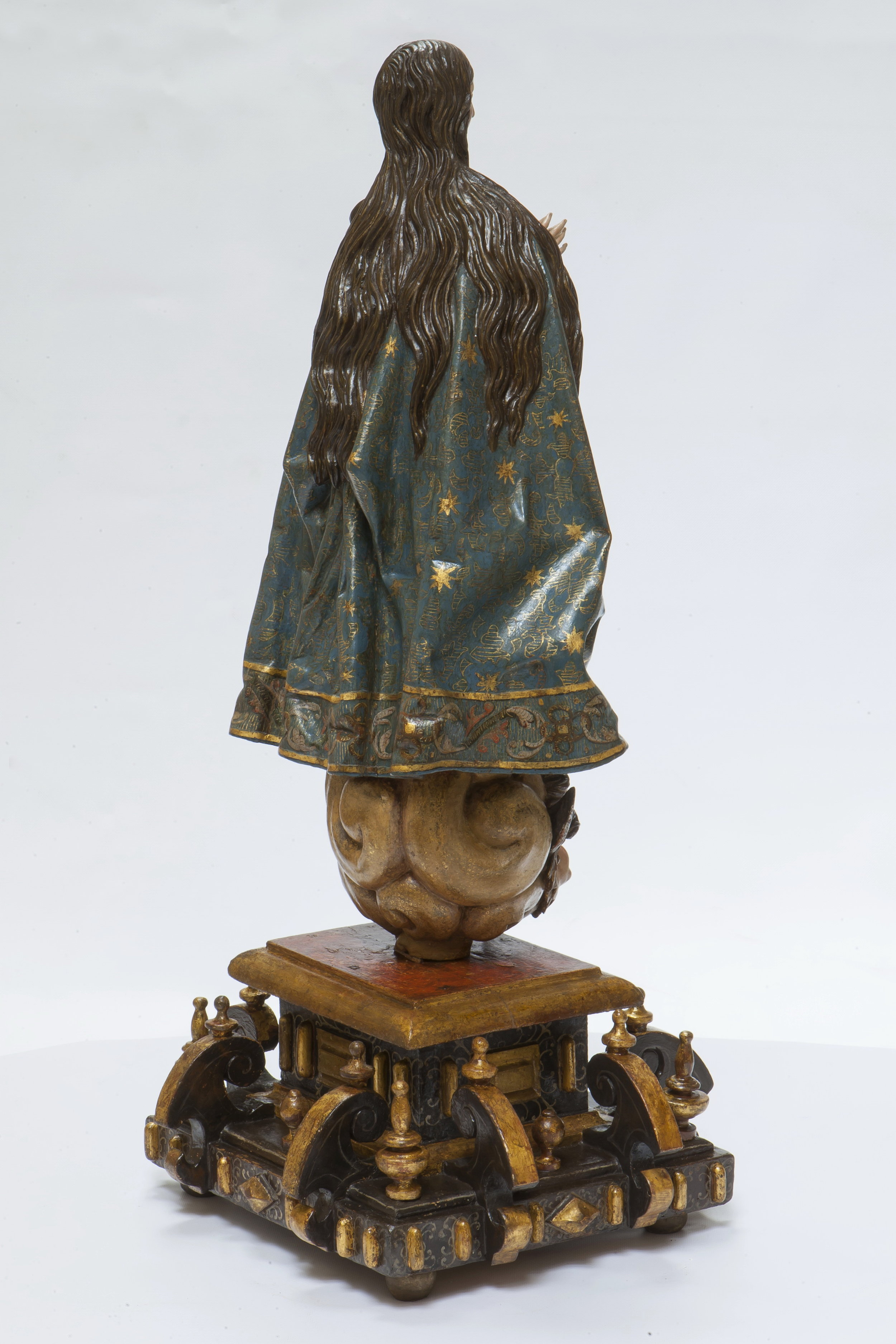 Gregorio Fernández, Virgin of the Immaculate Conception - View from the Reverse
