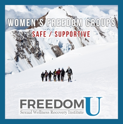 Sexually addicted spouse online support groups.Freedom U Sexual Wellness Recovery Institute www.freedomu.net