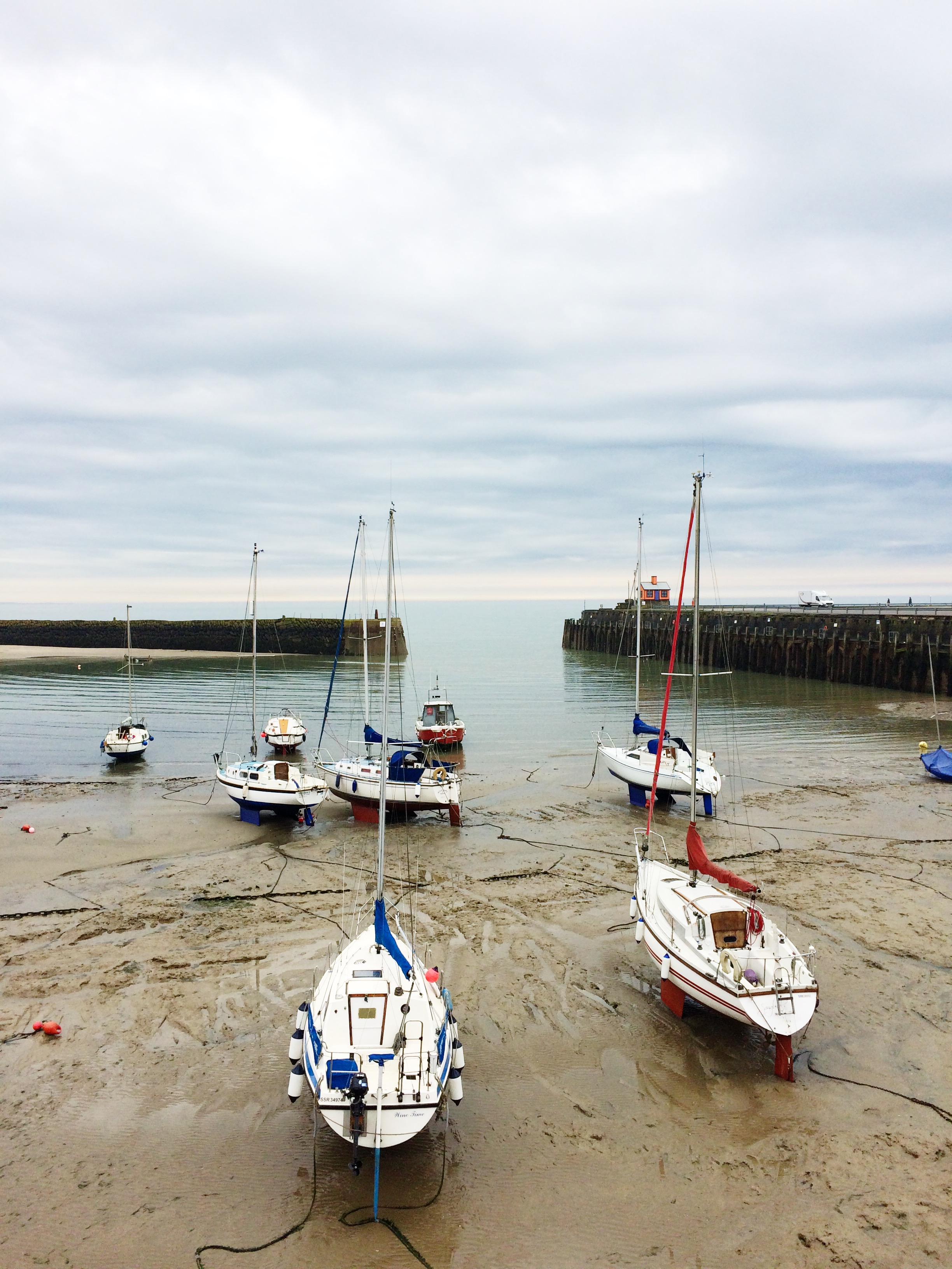 The habour at low tide by Small Acorns.JPG