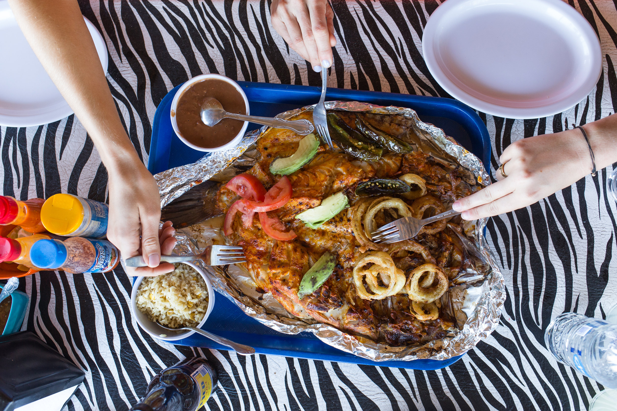 Baja California Seafood Feast by Joanne Pio