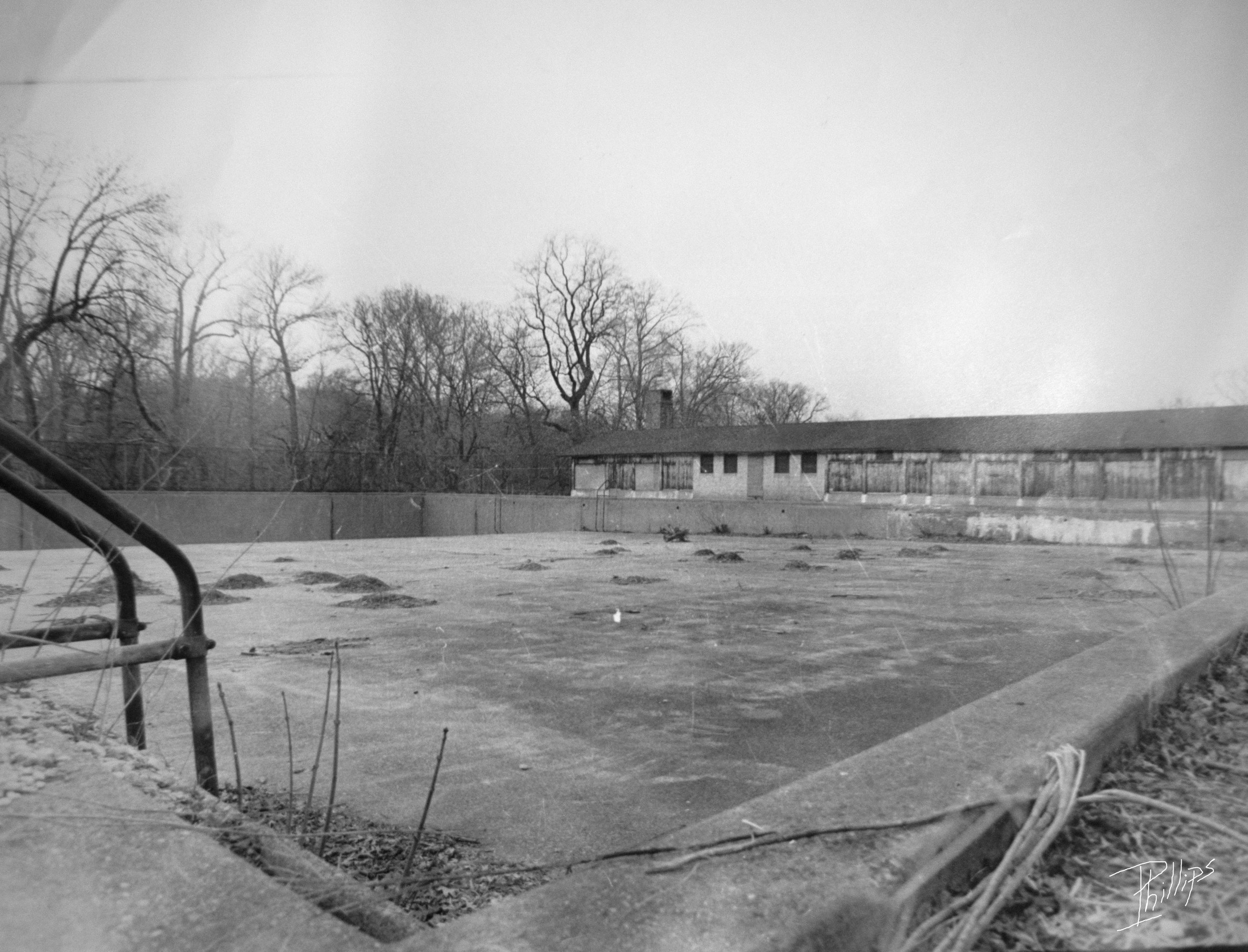 Pool No. 2, Druid Hill Park, 1999   Photo credit: Webster Phillips III