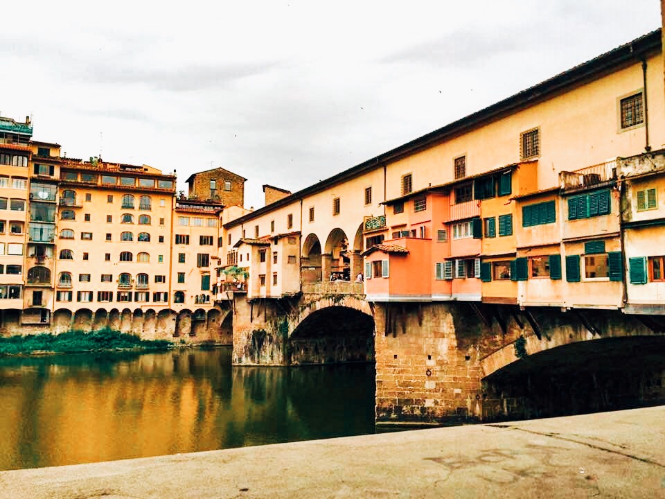 Ponte Vecchio  During World War II it was the only bridge across the Arno that the fleeing Germans did not destroy.
