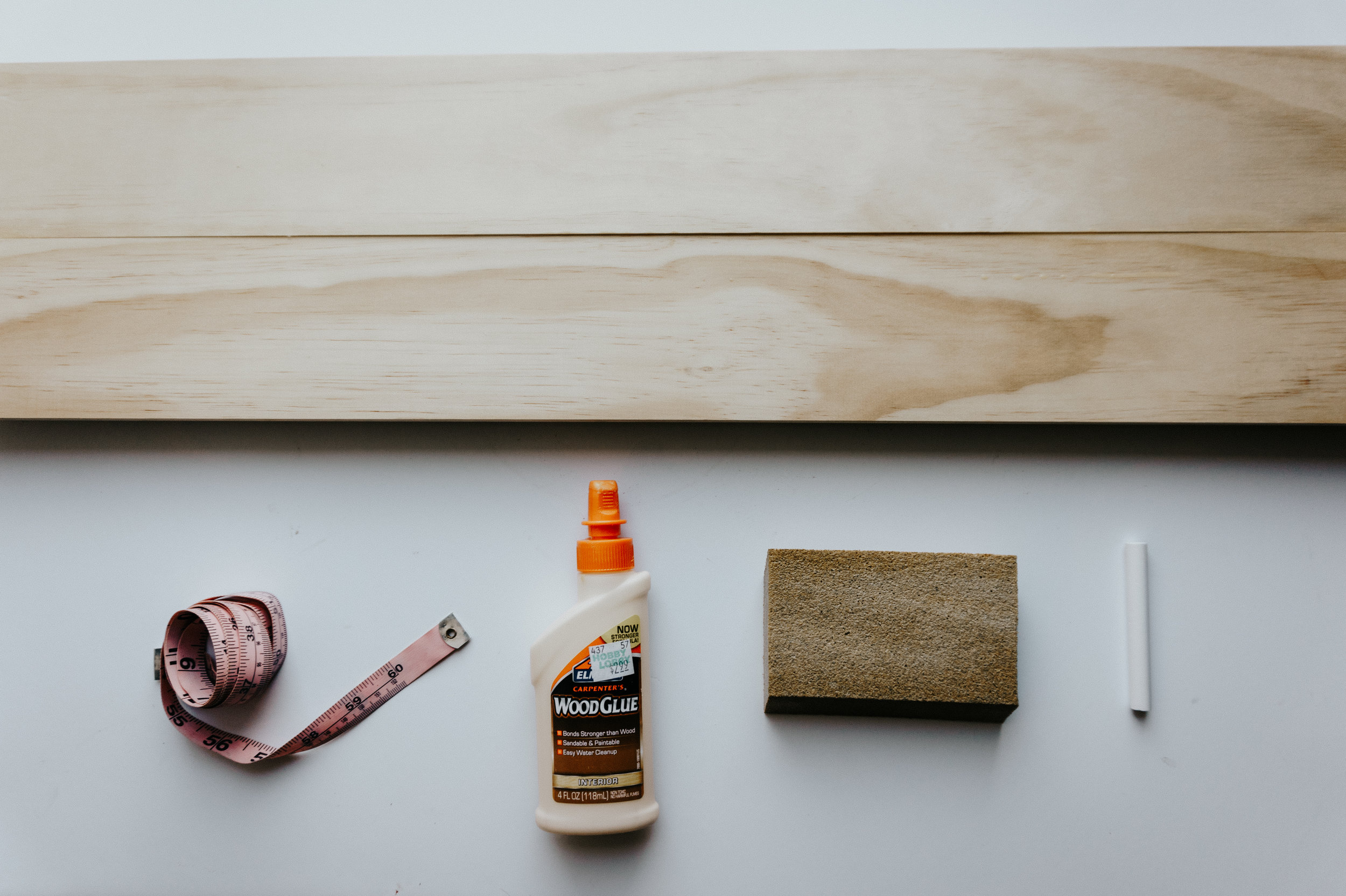 What you will need: - -Wood Glue-Cedar wood-A Measuring Tape-Chalk-Sand paper