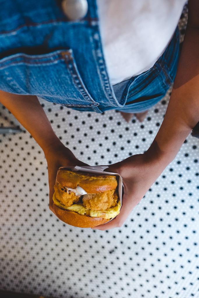 Birdies Breakfast Sandwich