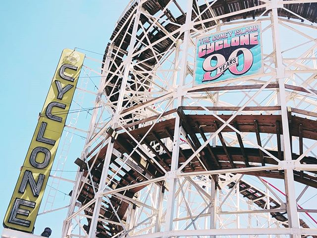 """... Let's go down to Coney Island and pretend to ride the Cyclone..."" -Ermina (Crumbs from the Table of Joy)"