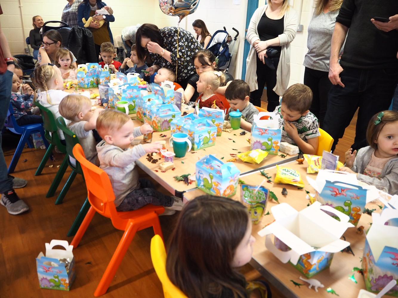 mummy blog, boys birthday party ideas, dinosaur party ideas, messy play parties