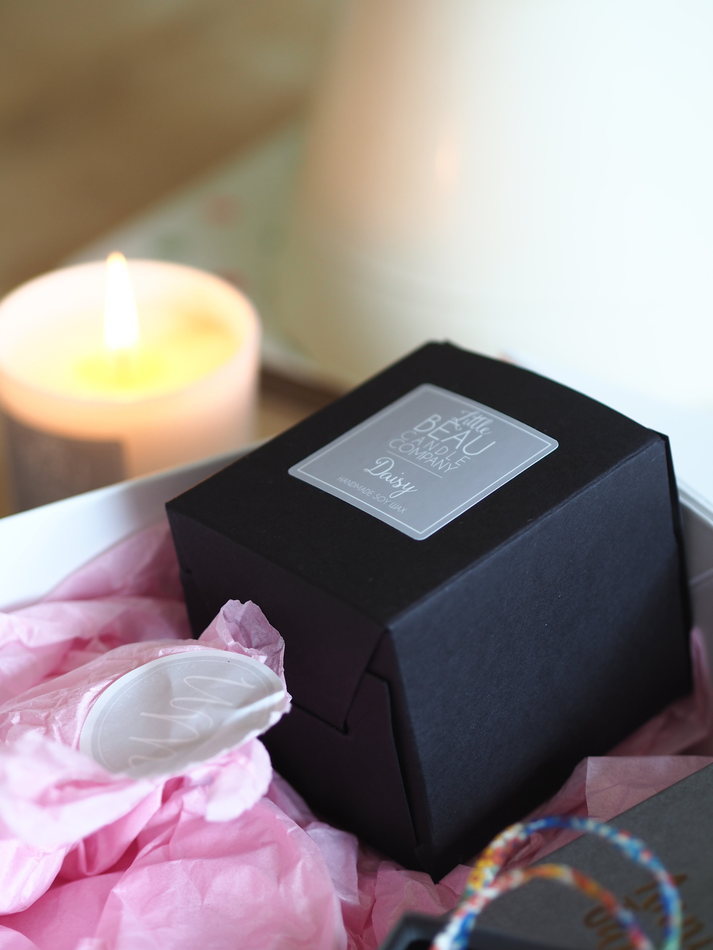 Little Beau Candle Company, Scent Daisy. Tap image to shop.