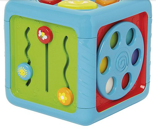 Carousel Play and Learn Cube  - £14