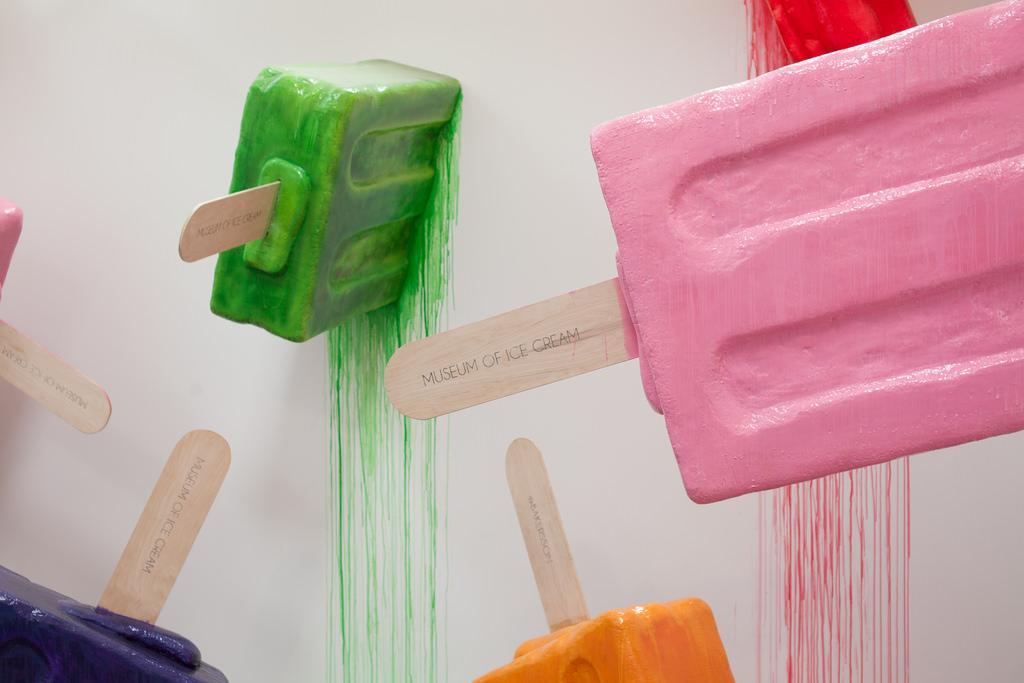 Museum of Ice Cream exhibit.
