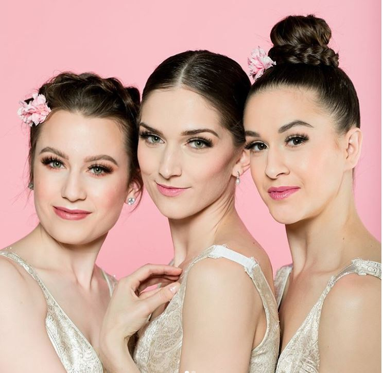 Ballet Idaho ladies wearing the Vivian lash.