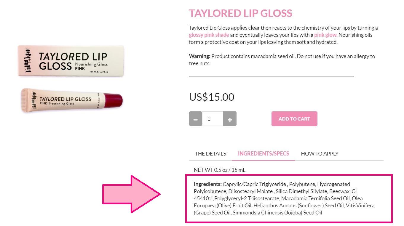Taylored Lip Gloss.JPG