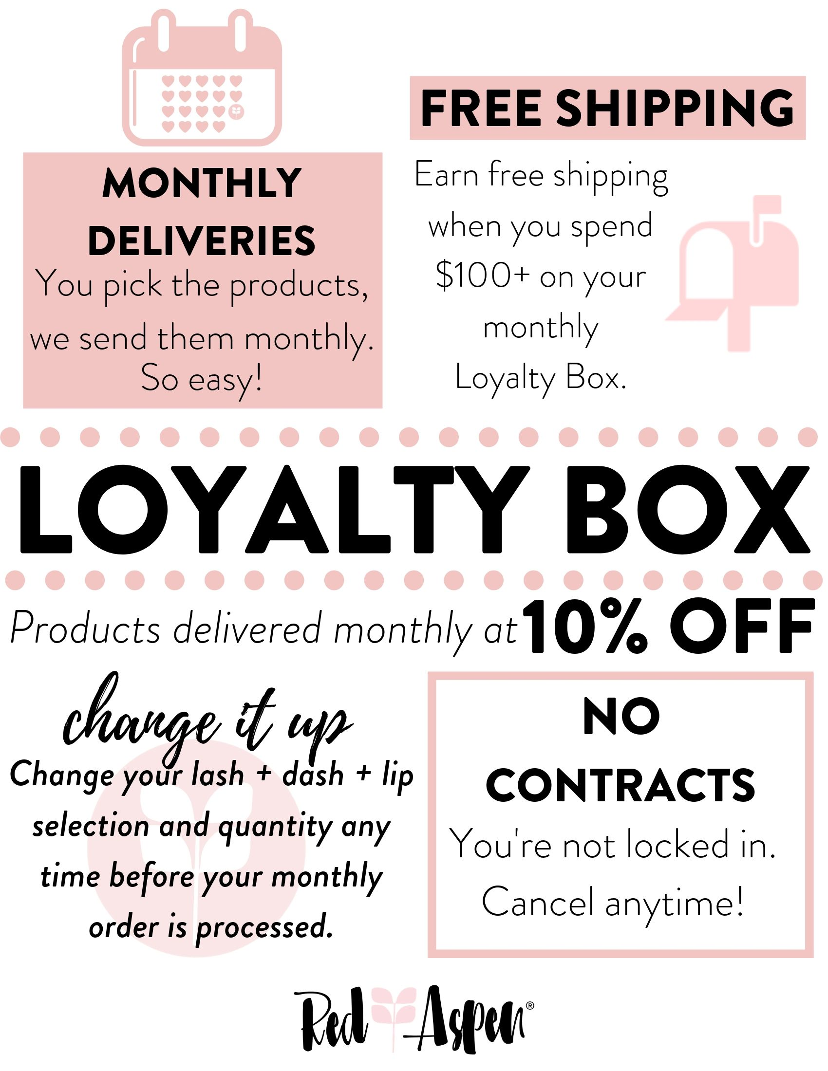 Loyalty Box Program -
