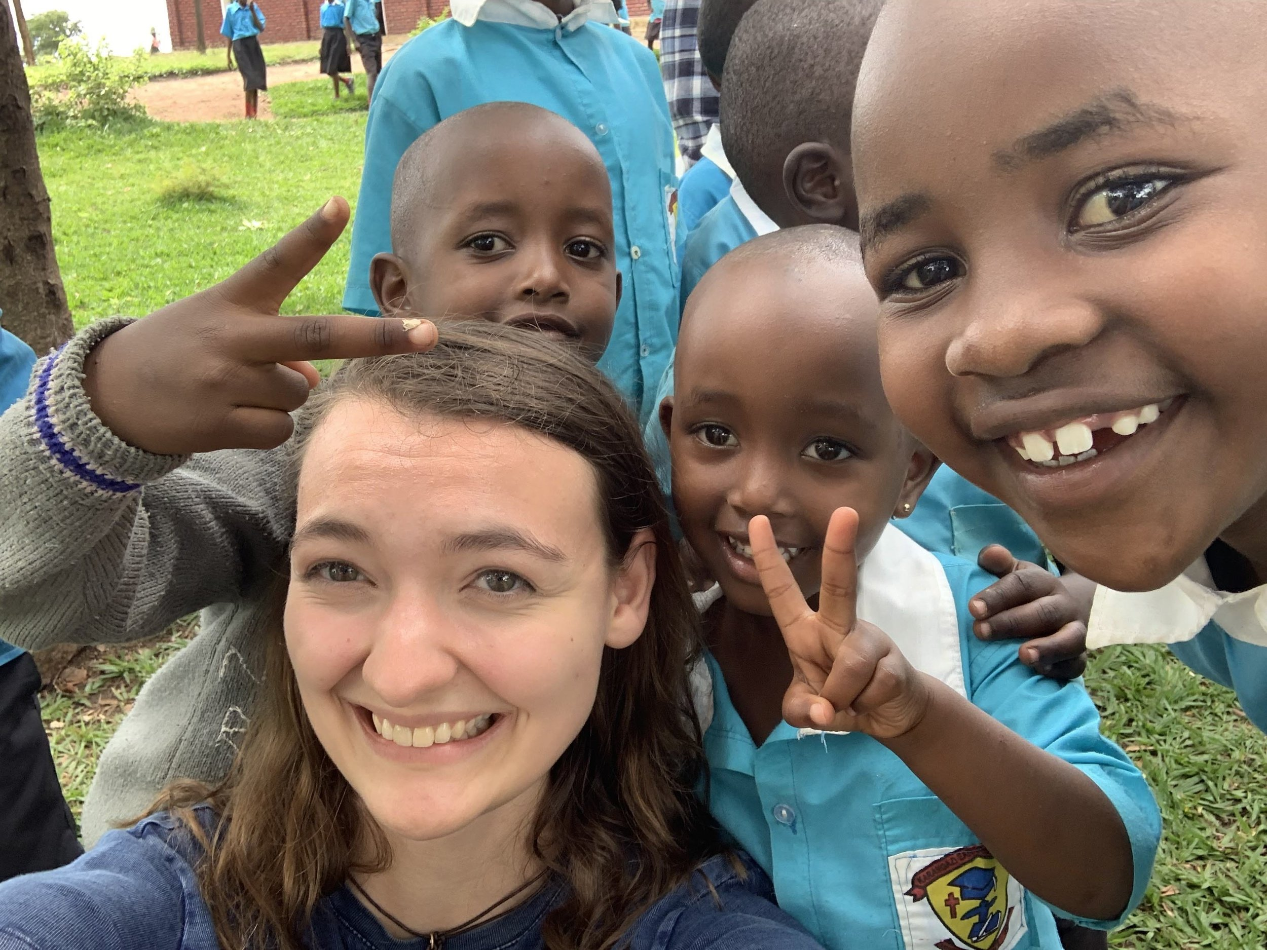My new friends in Karangazi, Rwanda, this past May.