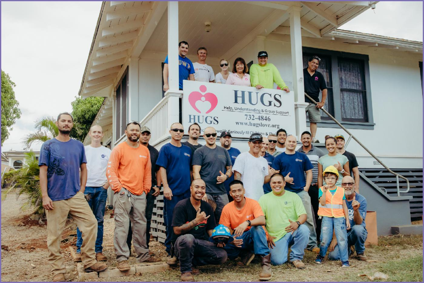HUGS Foundation - Volunteer Event - Honolulu, Oahu, Hawaii - Ketino Photography - Hawaii Branding Photogragrapher.jpg