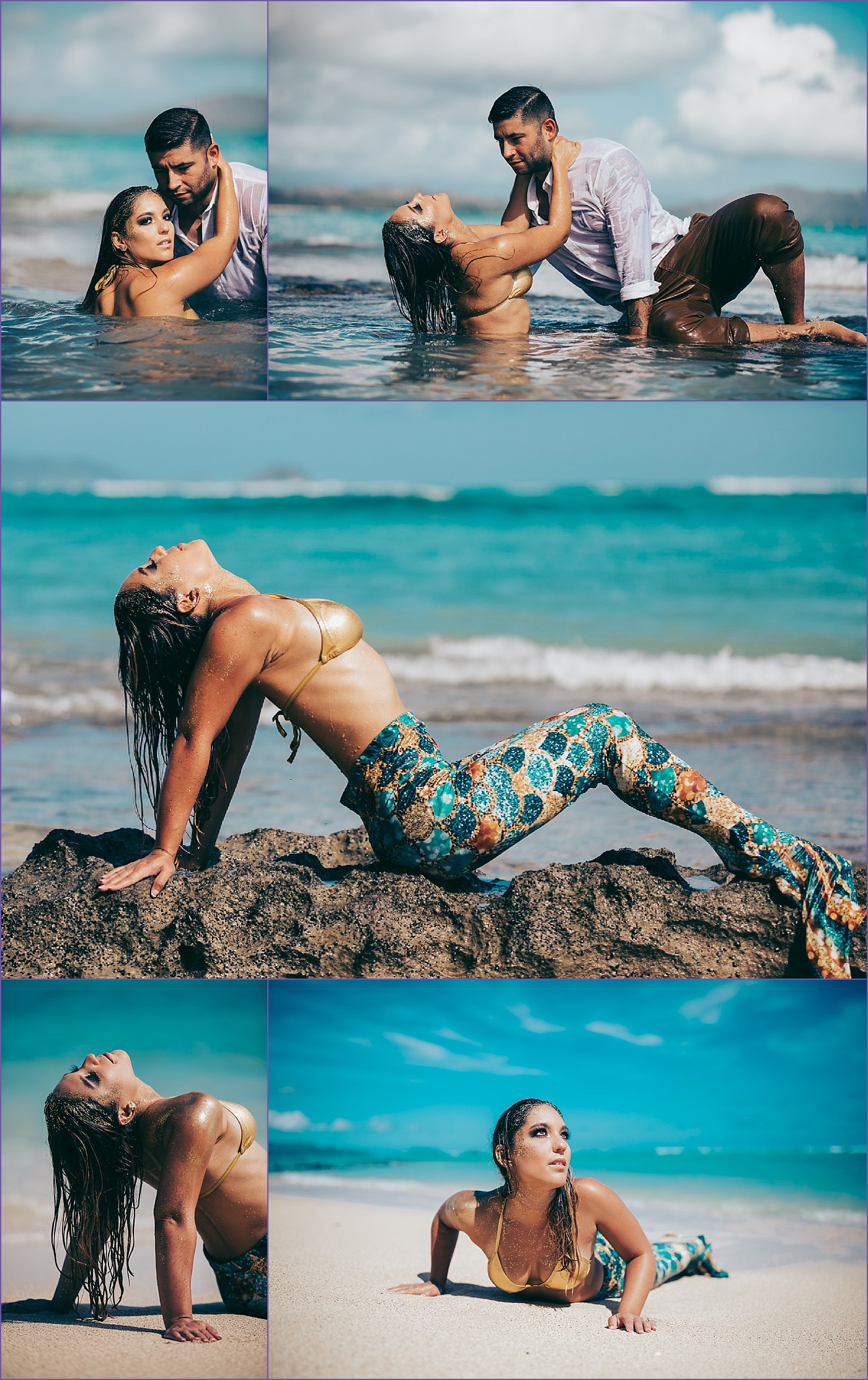 Mermaid Couple Editorial Glamour Hawaii Styled PhotoShoot - Ketino Photography - Oahu Family and Glamour Photographer.jpg