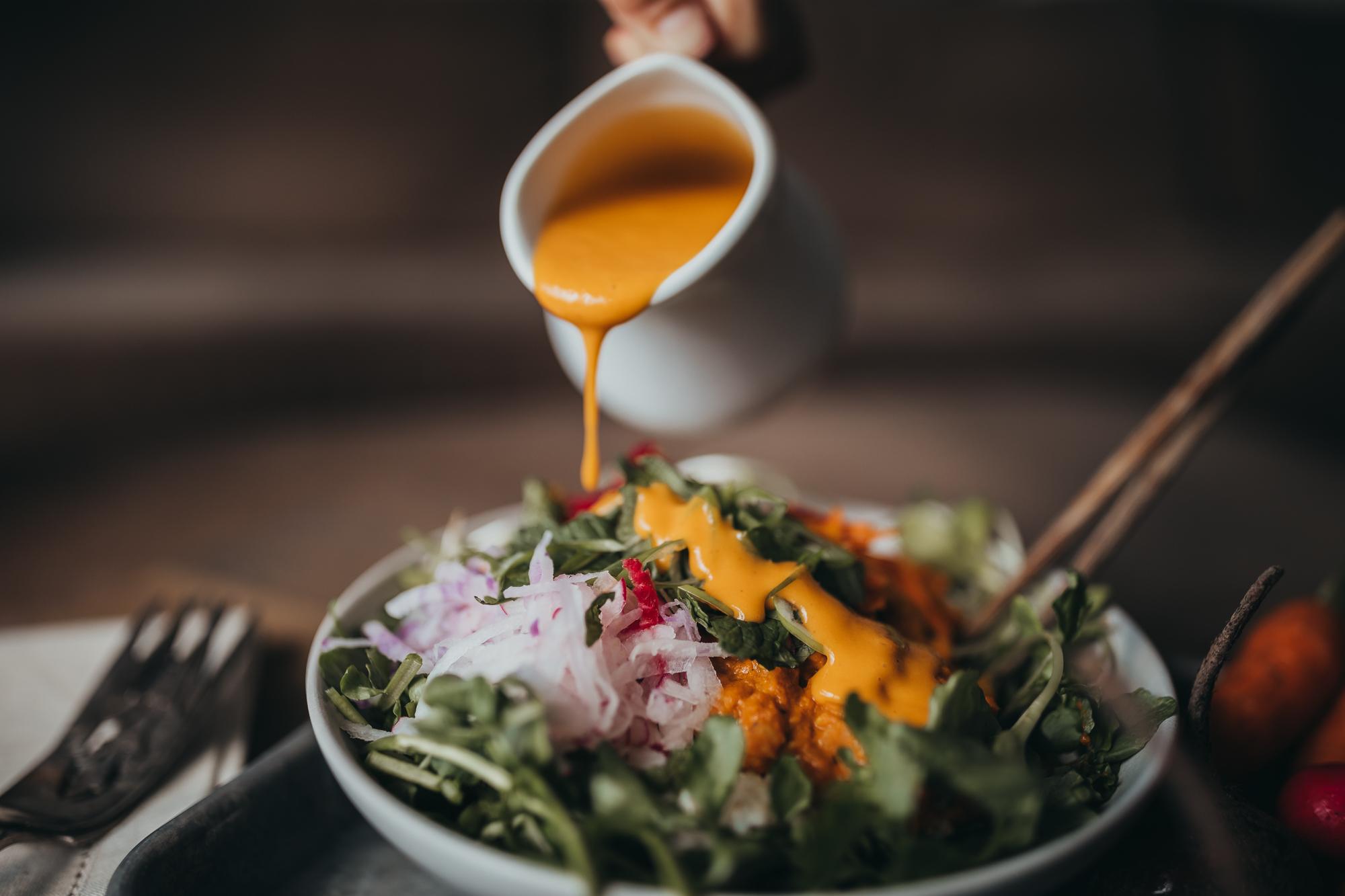 In season salad -