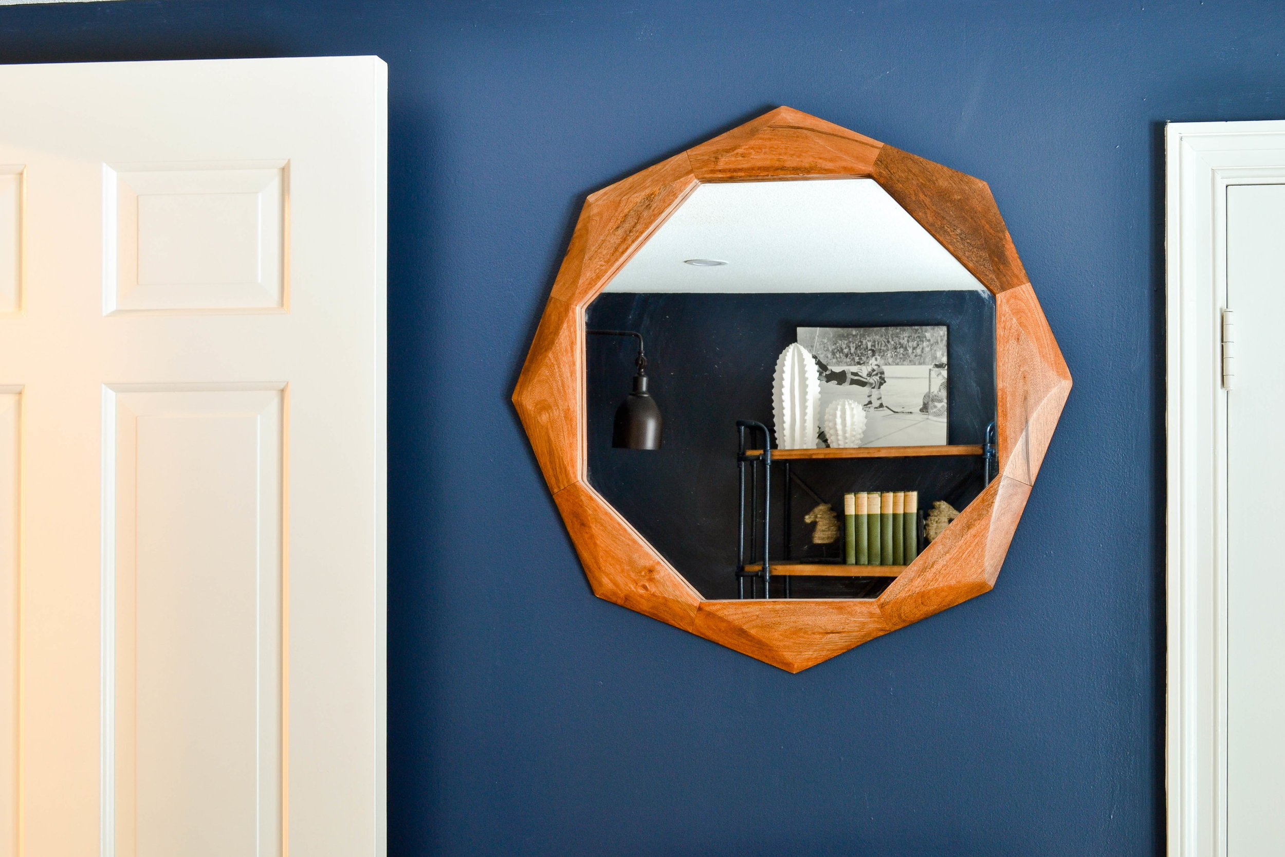 MayberryProject Octagonal mirror
